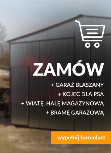 Skontaktuj się z nami, zamów garaż blaszany